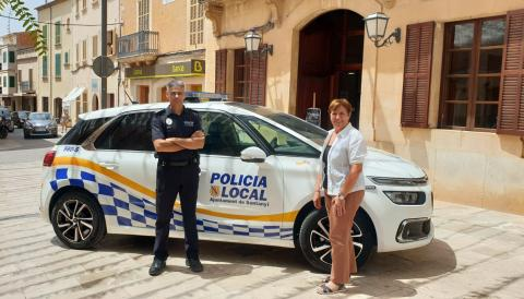 NOU VEHICLE POLICIA LOCAL SANTANYÍ